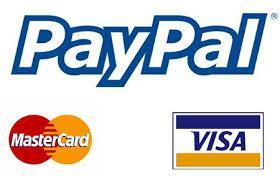 Electronic Payment Visa Mastercard Paypal Diving